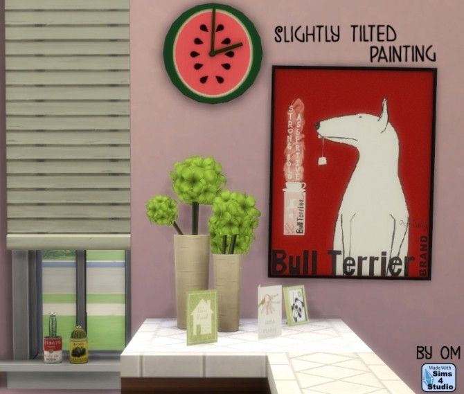 Slightly tilted painting by OM at Sims 4 Studio image 804 670x569 Sims 4 Updates