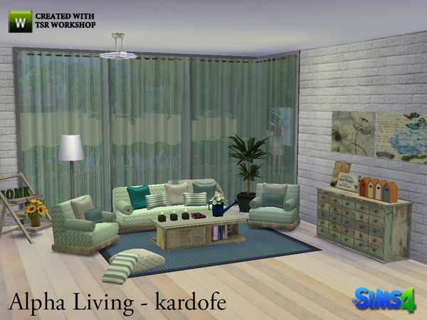 Alpha Living by kardofe at TSR image 811 Sims 4 Updates