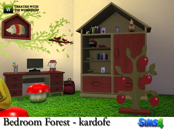 Bedroom Forest by kardofe at TSR image 8113 Sims 4 Updates