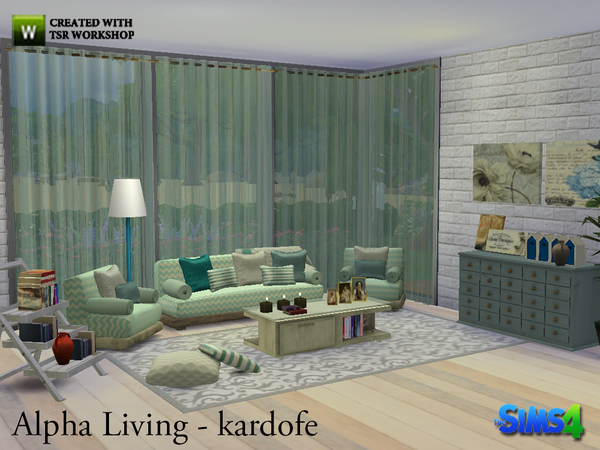 Alpha Living by kardofe at TSR image 821 Sims 4 Updates