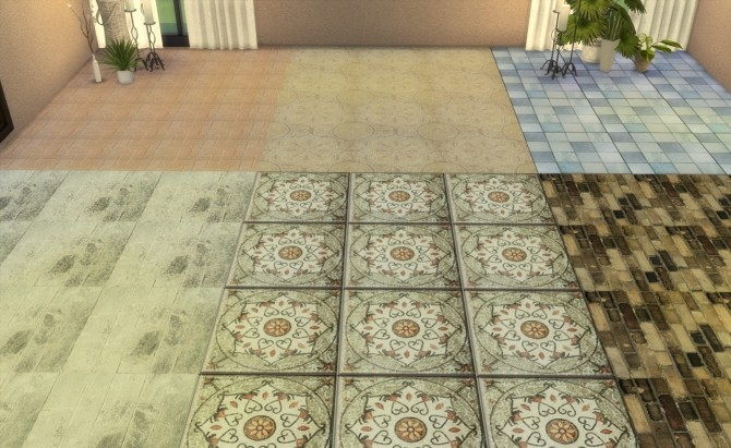 Floor Set 2 at My little The Sims 3 World image 8213 670x411 Sims 4 Updates