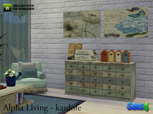 Alpha Living by kardofe at TSR image 831 Sims 4 Updates