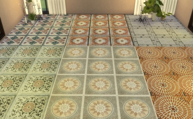 Floor Set 2 at My little The Sims 3 World image 8312 670x411 Sims 4 Updates