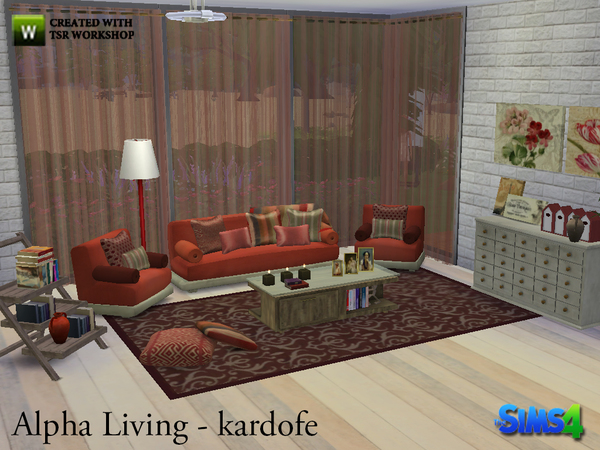Alpha Living by kardofe at TSR image 841 Sims 4 Updates