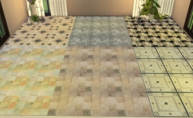 Floor Set 2 at My little The Sims 3 World image 8413 670x411 Sims 4 Updates