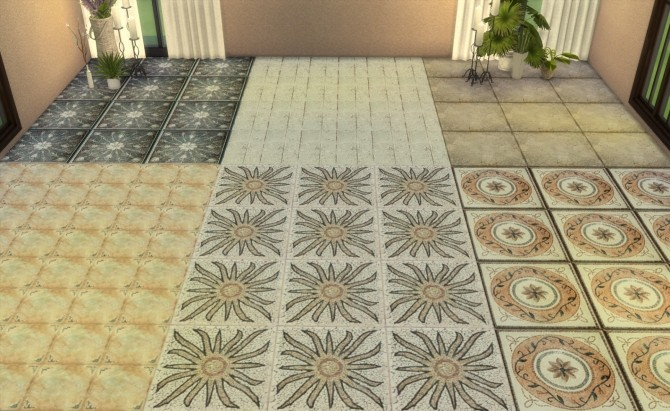 Floor Set 2 at My little The Sims 3 World image 8513 670x411 Sims 4 Updates