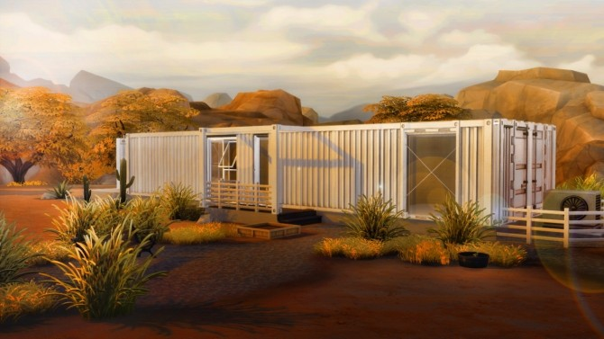 Container House At Sim Mu 187 Sims 4 Updates