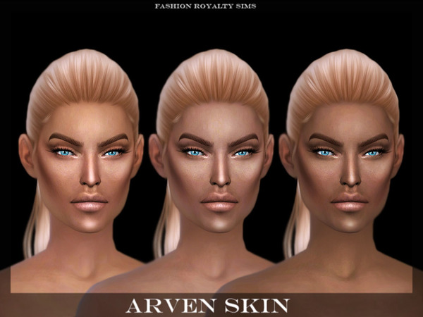 Sims 4 Arven Skin by FashionRoyaltySims at TSR