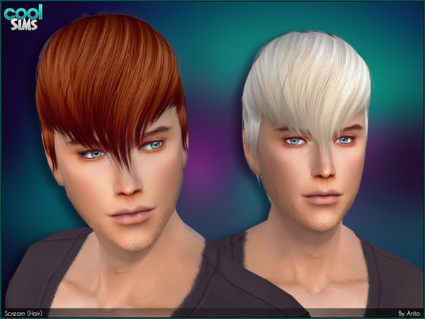 Anto Scream Hair by  Alesso at TSR image 86 Sims 4 Updates