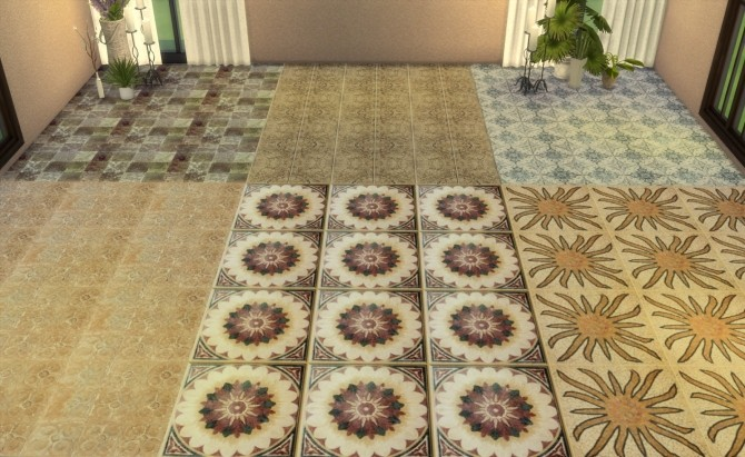 Floor Set 2 at My little The Sims 3 World image 8612 670x411 Sims 4 Updates