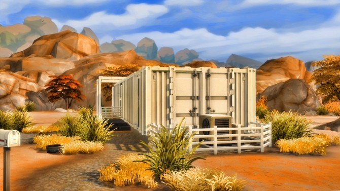 Container house at Sim Mu image 8615 670x377 Sims 4 Updates