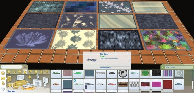 Sims 4 36 4x3 Rugs by Simmiller at Mod The Sims