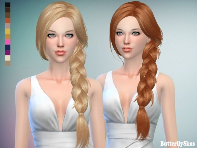 Sims 4 B fly hair af 160 JO No hat (Pay) at Butterfly Sims