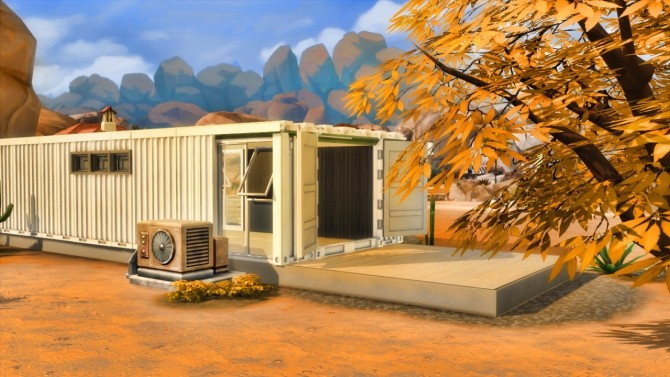Container house at Sim Mu image 8713 670x377 Sims 4 Updates