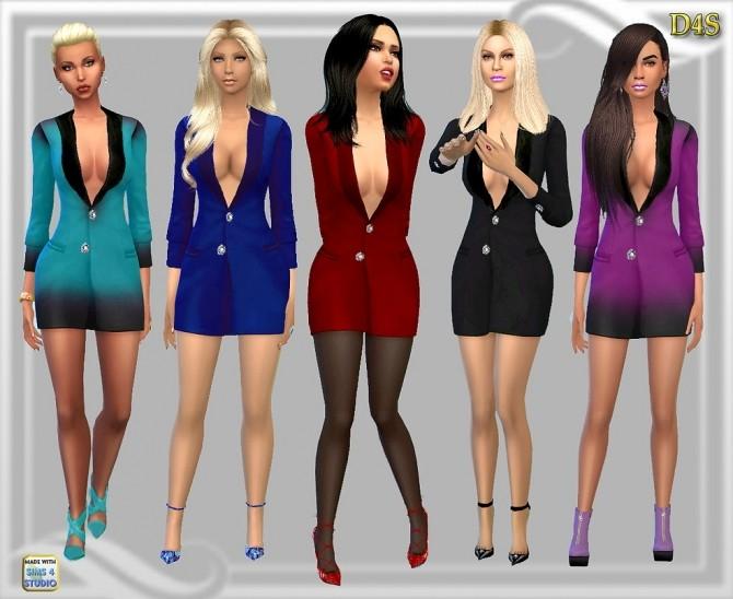 Sims 4 Nightcap dress at Dreaming 4 Sims