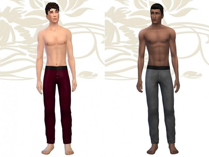 Sims 4 SLINE pajama by Fuyaya at Sims Artists