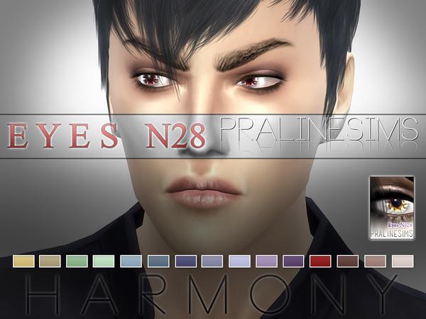 Sims 4 Harmony Eyes N28 by Pralinesims at TSR