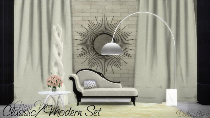 Classic/Modern Set by DalaiLama at The Sims Lover image 9412 670x378 Sims 4 Updates