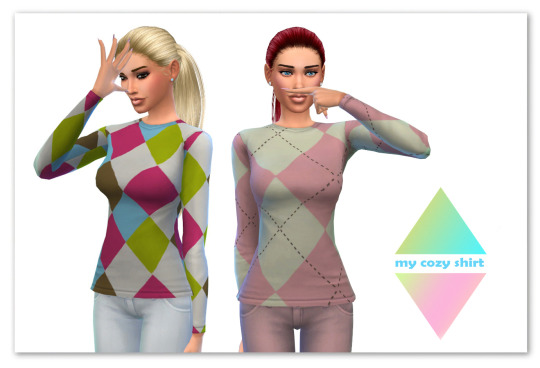 My cozy shirt at Maimouth Sims4 image 950 Sims 4 Updates