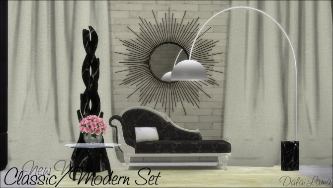 Classic/Modern Set by DalaiLama at The Sims Lover image 9510 670x378 Sims 4 Updates