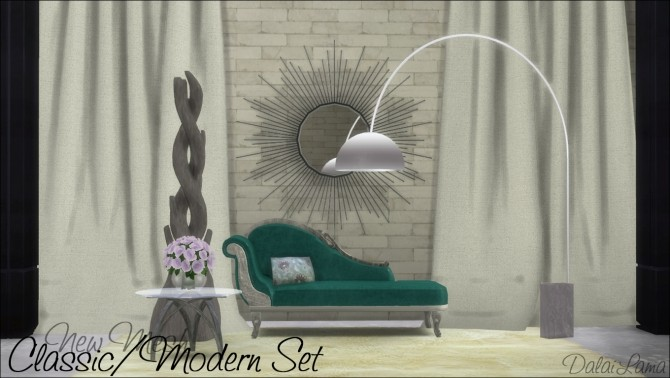 Classic/Modern Set by DalaiLama at The Sims Lover image 9612 670x378 Sims 4 Updates