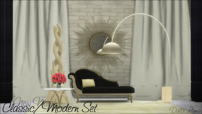 Classic/Modern Set by DalaiLama at The Sims Lover image 9712 670x378 Sims 4 Updates
