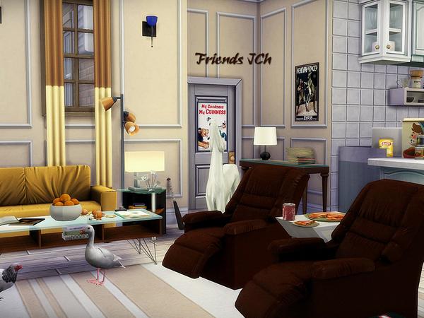 Sims 4 Friends JCh by Kiolometro at TSR