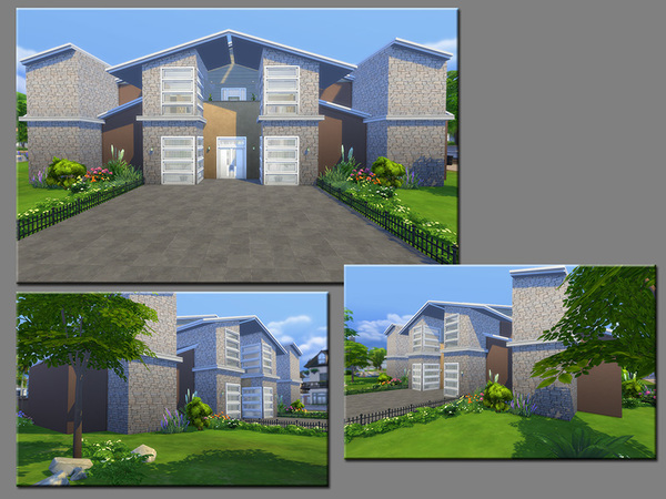 Sims 4 MB Body and Soul house by matomibotaki at TSR