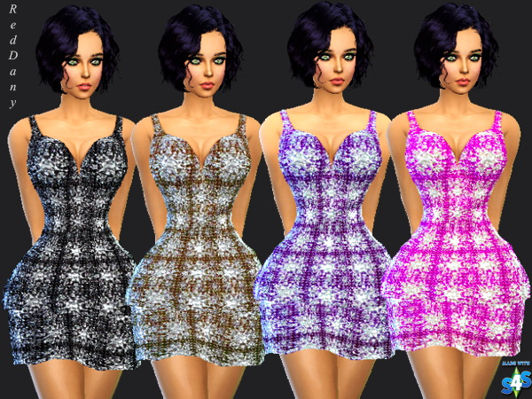 Sims 4 Minidress Brilliant at Dany's Blog