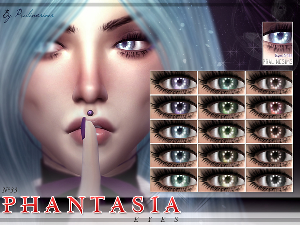 Sims 4 Phantasia Eyes N33 by Pralinesims at TSR