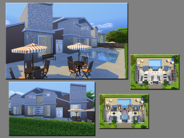 MB Body and Soul house by matomibotaki at TSR image 1017 Sims 4 Updates