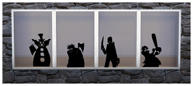 Sims 4 Simblreen Wall and Window Stickers at SimDoughnut