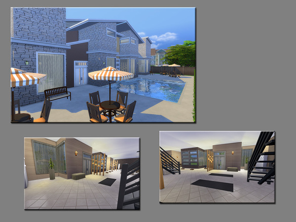 MB Body and Soul house by matomibotaki at TSR image 1024 Sims 4 Updates