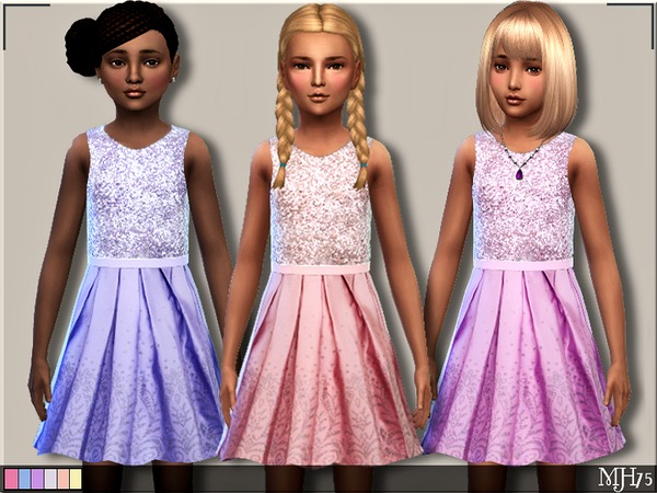 Sparkle Dress by Margeh 75 at TSR image 1033 Sims 4 Updates