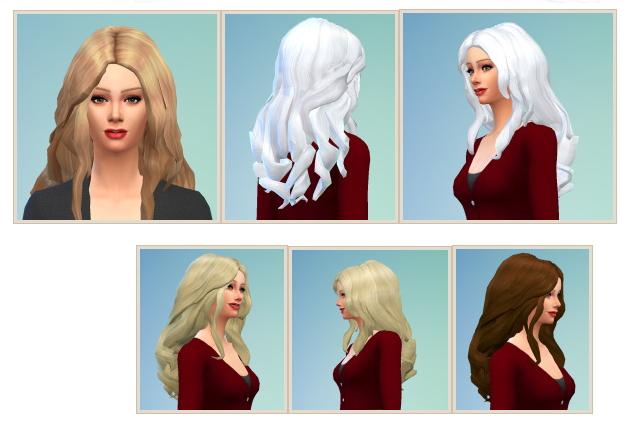 Sims 4 Thick Hair at Birksches Sims Blog