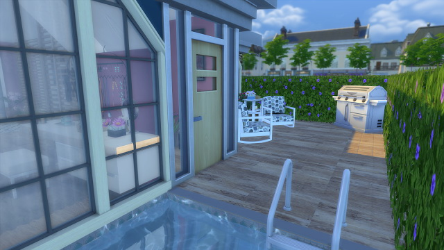 Sims 4 My Blue House at Dinha Gamer