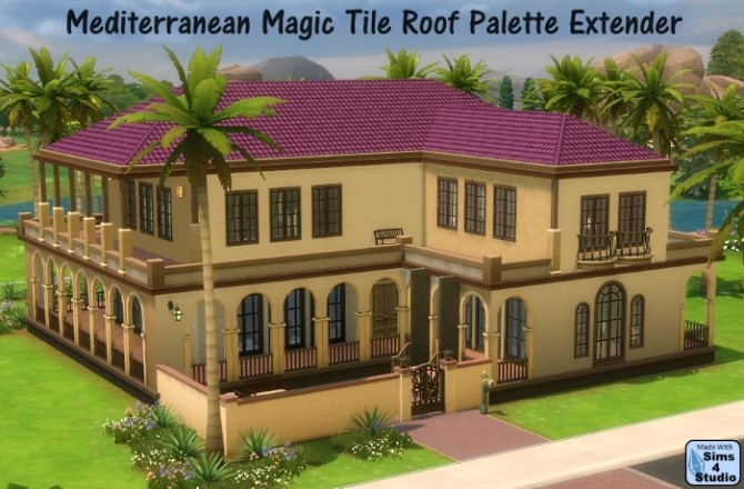 how to build roof sims 4