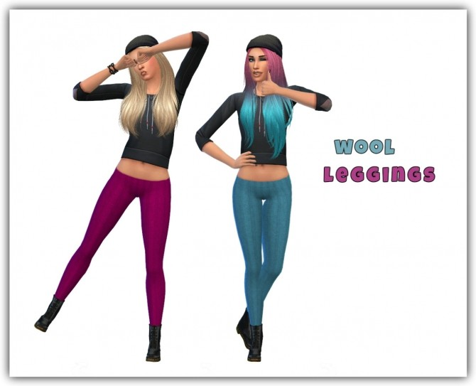 Wool leggings at Maimouth Sims4 image 1151 670x543 Sims 4 Updates