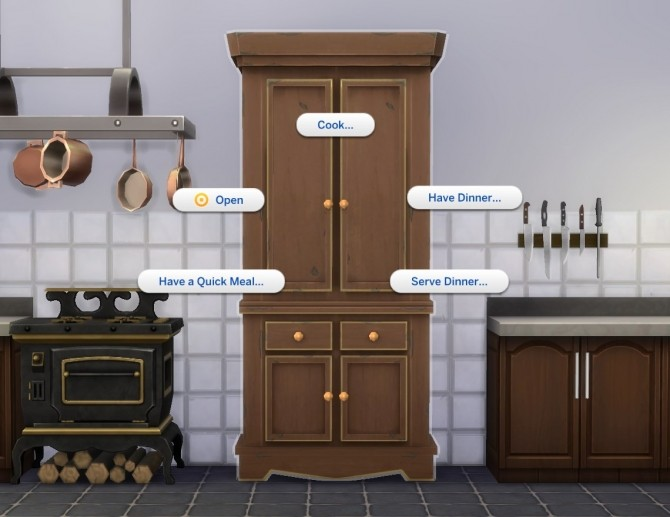 Sims 4 Kitchen Cupboard by plasticbox at Mod The Sims