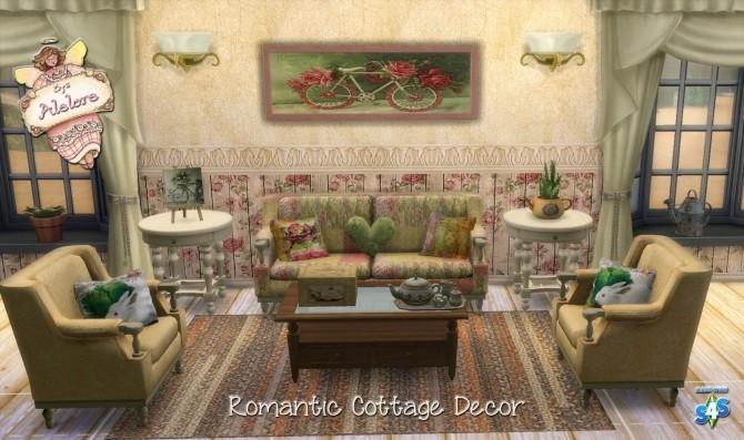 romantic cottage decor at alelore sims blog sims 4 updates