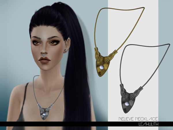 Believe Necklace by LeahLilith at TSR image 12 Sims 4 Updates