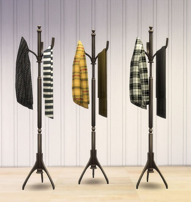 Coat Rack Recolors by Ruby Red at Ruby's Home Design image 1204 670x709 Sims 4 Updates