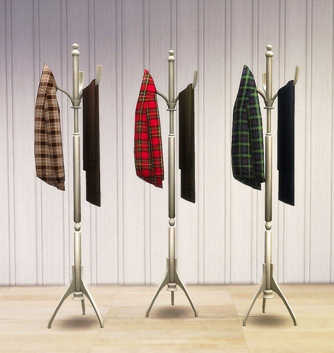 Coat Rack Recolors by Ruby Red at Ruby's Home Design image 1218 670x709 Sims 4 Updates