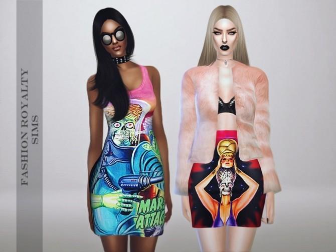 Mars Attacks Collection DRESS & SKIRT at Fashion Royalty Sims image 1235 670x503 Sims 4 Updates
