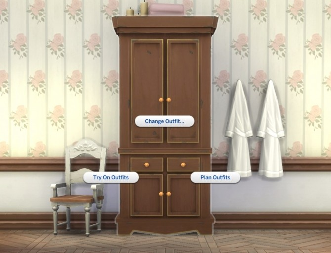 Country Armoire by plasticbox at Mod The Sims image 12411 670x511 Sims 4 Updates
