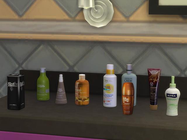 Sims 4 Cosmetics II clutter by Kresten 22 at Sims Fans