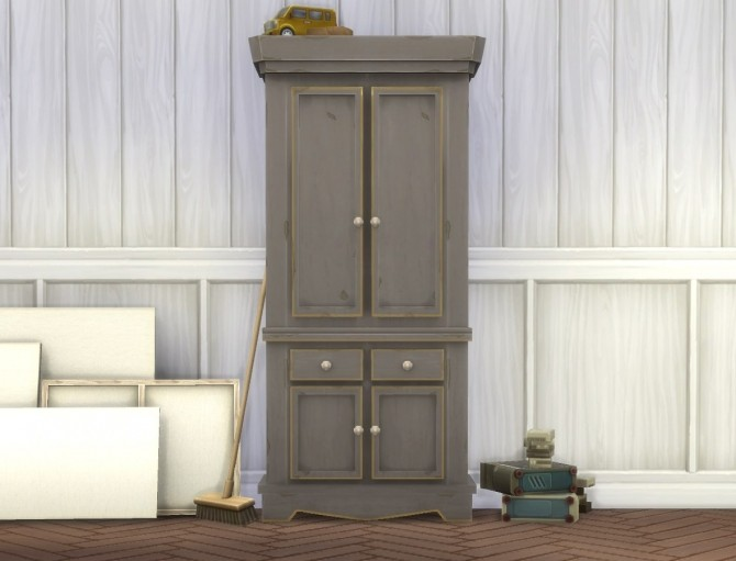 Country Armoire by plasticbox at Mod The Sims image 12511 670x511 Sims 4 Updates