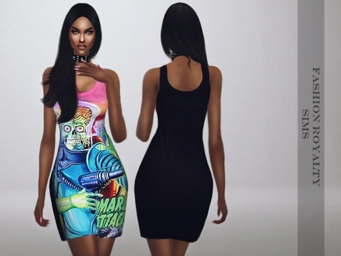 Mars Attacks Collection DRESS & SKIRT at Fashion Royalty Sims image 1255 670x503 Sims 4 Updates