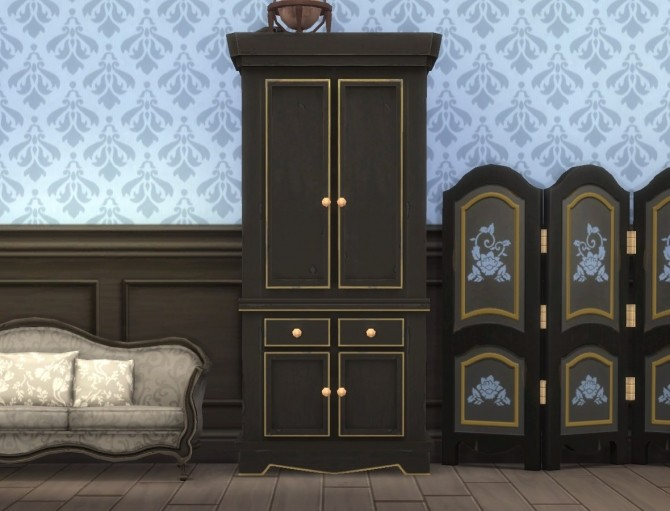 Country Armoire by plasticbox at Mod The Sims image 12611 670x511 Sims 4 Updates