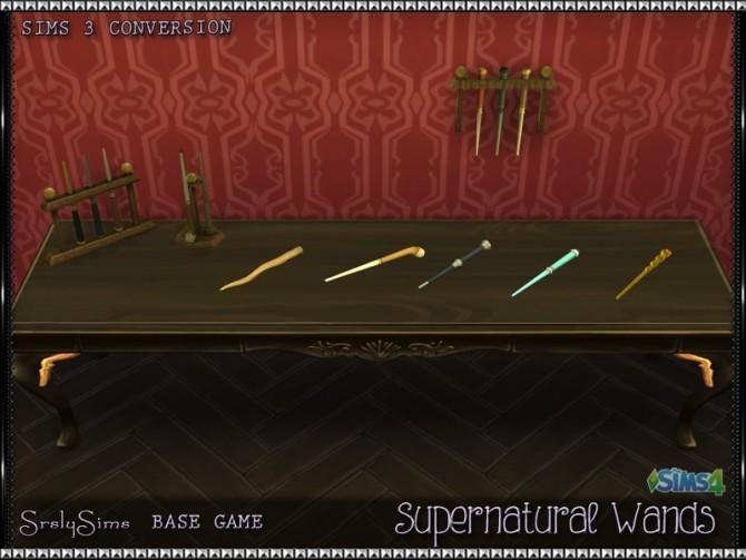 Sims 4 Supernatural Wands at SrslySims